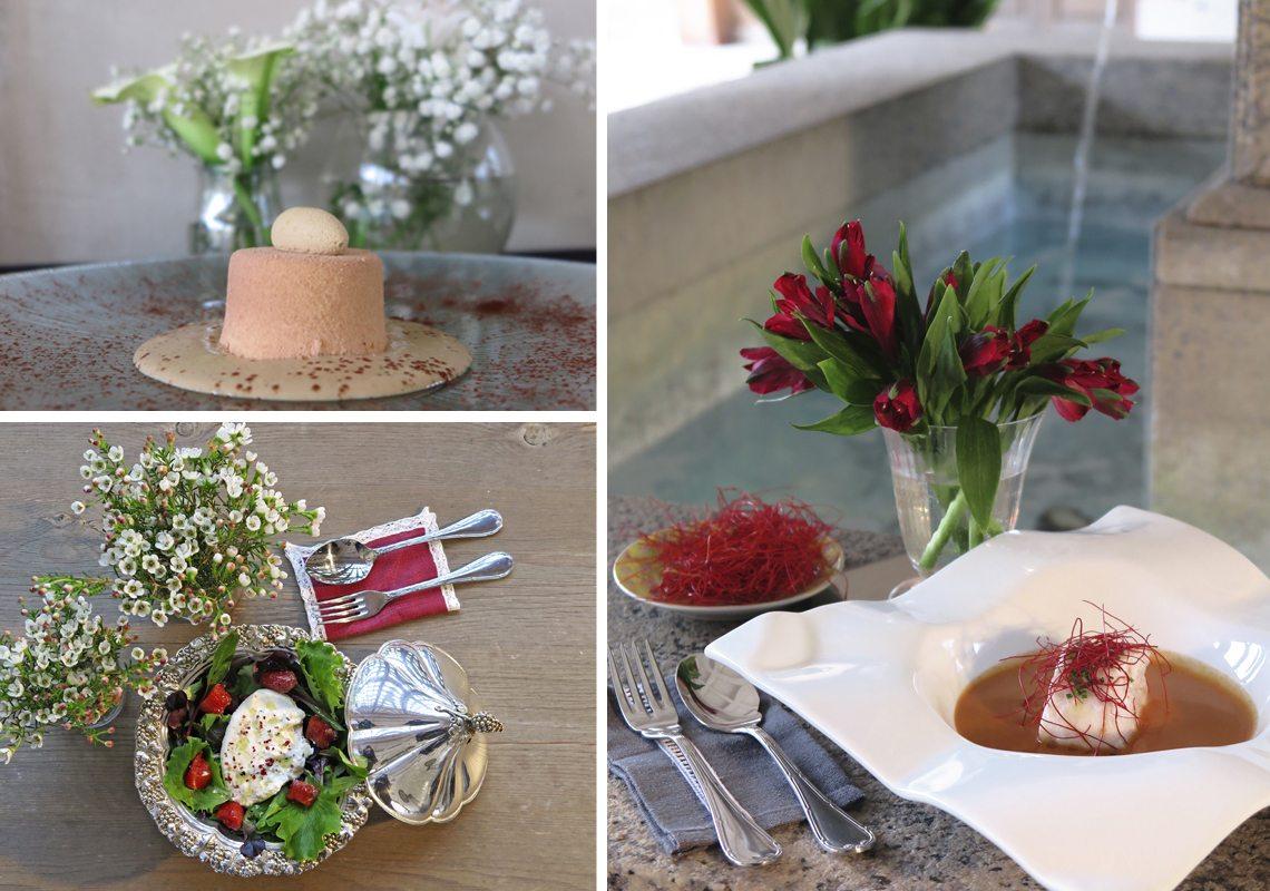 banquetes y menús para bodas
