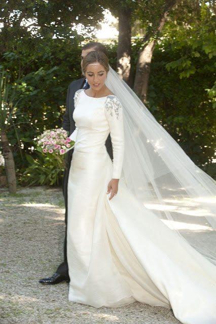 vestidos de novia de manga larga - la quinta de jarama