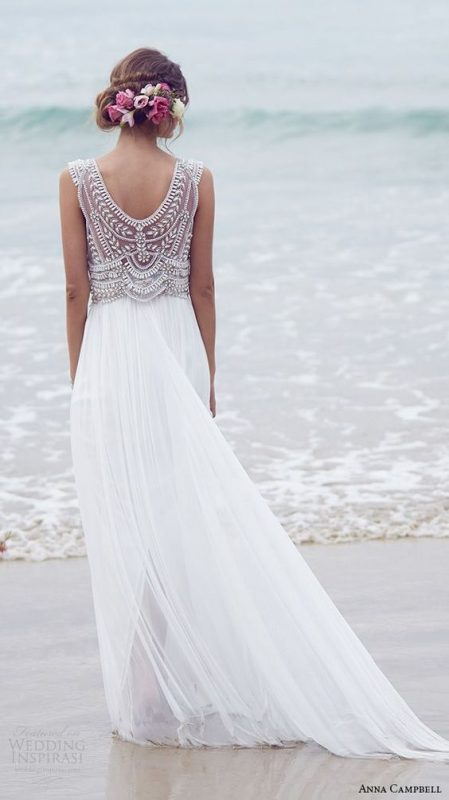Vestidos de matrimonio para verano
