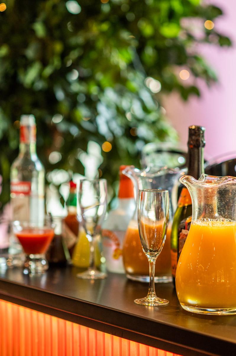 Bellini, Mimosa, Bloody Mary, Virgin Mary