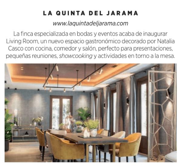 La Quinta de Jarama en Revista Nuevo Estilo 3